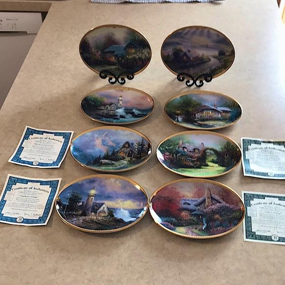 Thomas Kinkade's Scenes of Serenity Plate Set